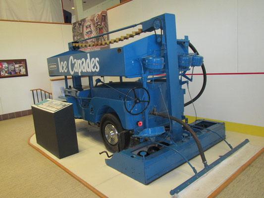 Coole alte Eismaschine