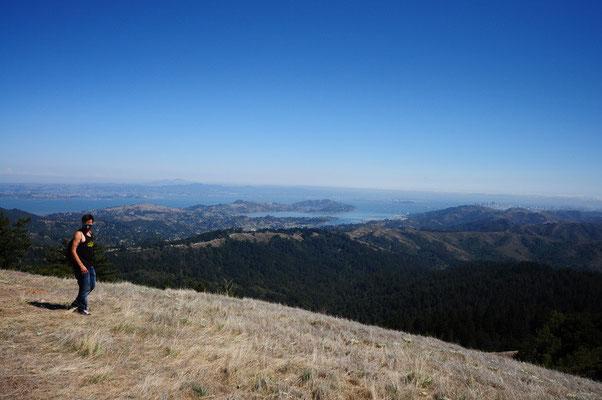 Aussicht vom Mt. Tam auf San Francisco