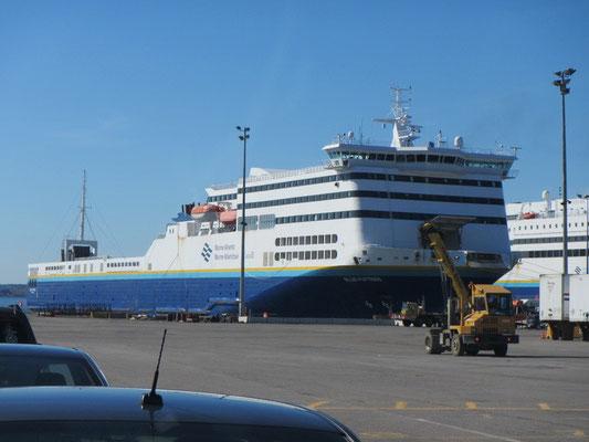 Fähre von Nova Scotia nach Neufundland