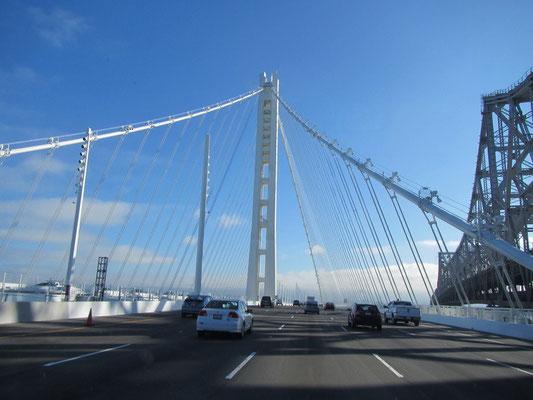 Auf der neuen Bay Bridge