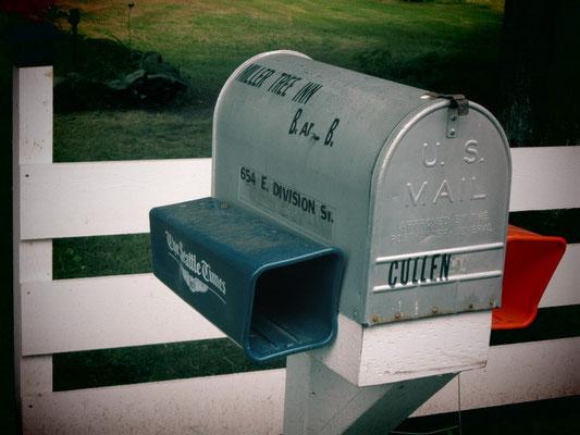 Forks-Cullens Briefkasten