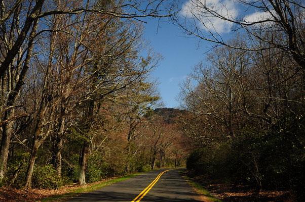 Der Blue Ridge Parkway