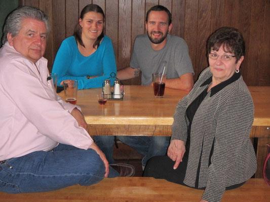 Essen mit John und Jennie