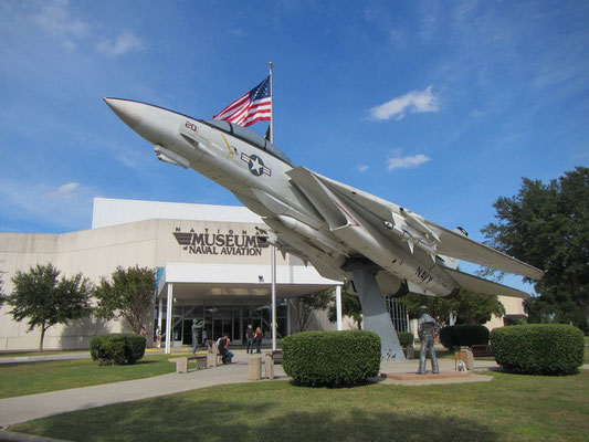 Das National Museum of Naval Aviation in Pensacola NAS