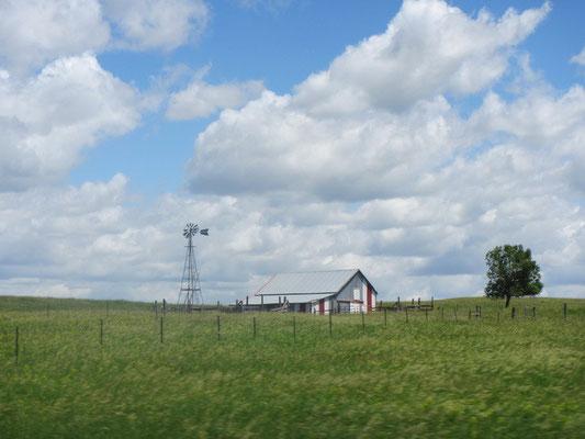 Fahrt durch South Dakota...