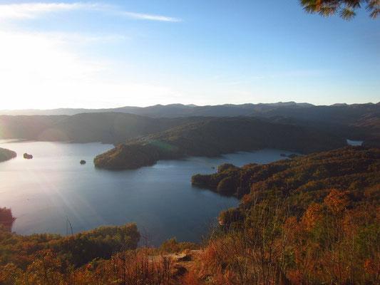 Campingausflug Lake Jocassee SC