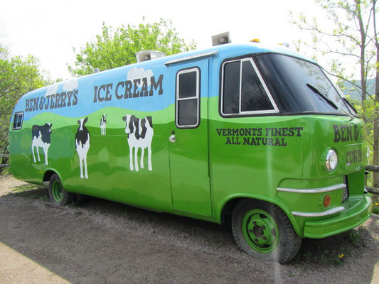 B & J Ice Cream Bus