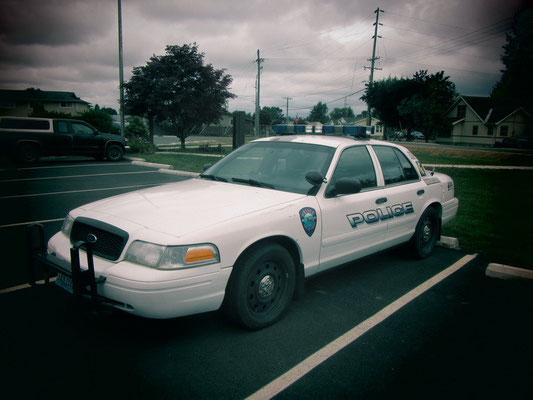 Forks-Polizeiauto von Bellas Vater
