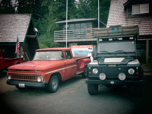Forks-Bella Swans Auto mit Bagheera zusammen