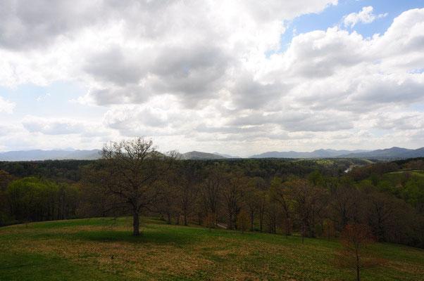 Die Aussicht vom Biltmore Haus