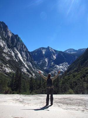 Wanderung im Kings Canyon zu den Mist Falls