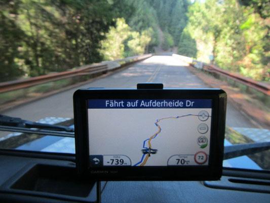 Fahrt auf dem AufDerHeide Highwas