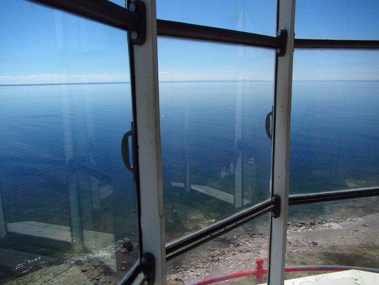 Geniale Aussicht über die Küste