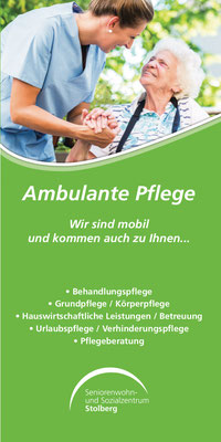 Ambulanter Pflegedienst in Stolberg...