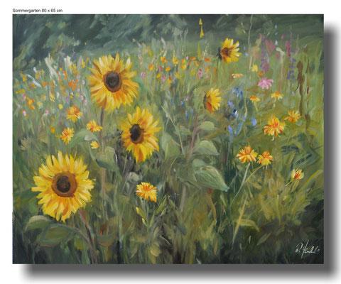 Sommergarten 80 x 65 cm