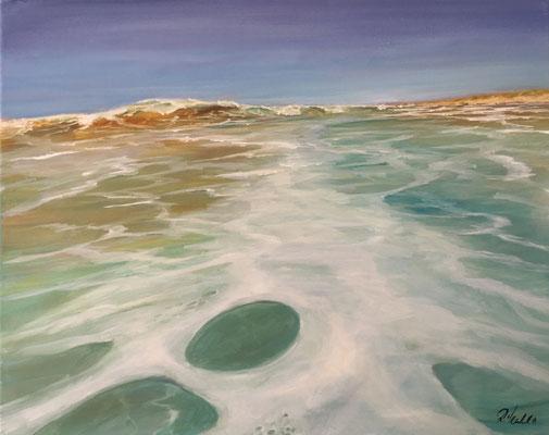 Sommer Sonne Strand 50 x 60 cm