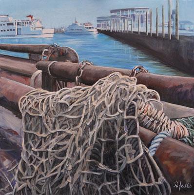 Fischernetze in Neuharlingersiel