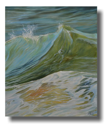 Seestück: Ocean Dreams  052015, 100x120 cm - 880 €