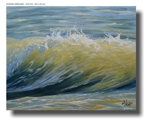 Ocean dreams 010115 50 x 40 cm