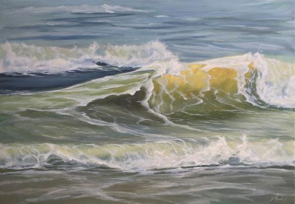 Ocean Dreams 01-2017 - 100x70 cm