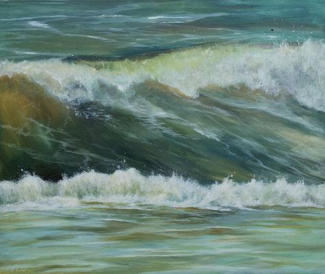 Die perfekte Welle 120 x 100 cm °
