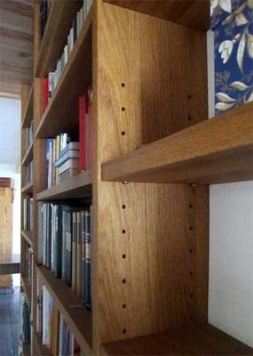 Bücherregal; Eiche; geölt
