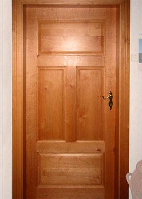 Zimmertür, Erle, lackiert