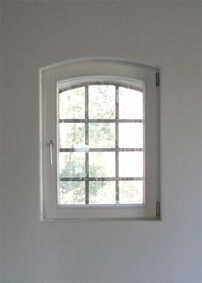 Vorsatzfenster, Wiener-Sprossen, Kiefer; lackiert
