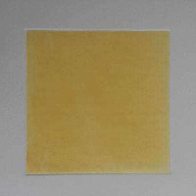 Colchicum _ Herbstzeitlose-Pollen auf Papier, 30 x 30 x 0,5 cm, 2017