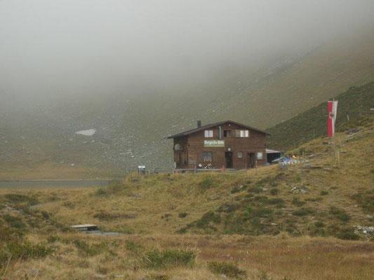 Nebel an der Bergerseehütte