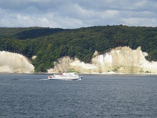 Wieder in Deutschland - Ankunft auf der Insel Rügen.