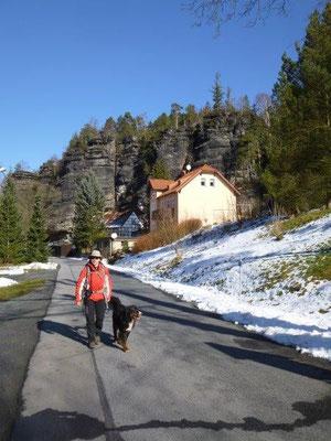 Start an der Schweizermühle