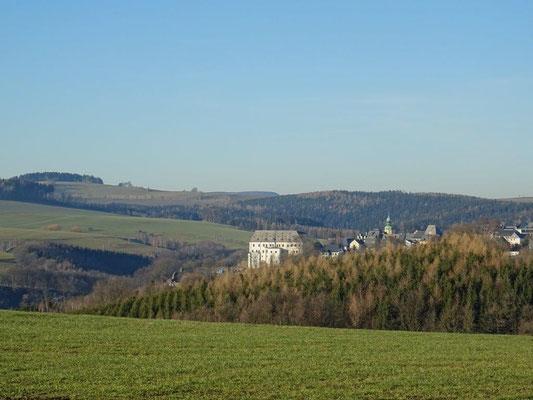 Blick zurück nach Wolkenstein