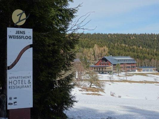Das Hotel der Skisprunglegende Jens Weißflog