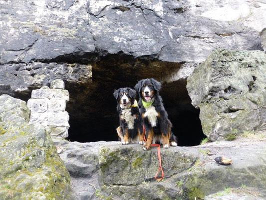 Die Lichterhöhle am Kleinhennersdorfer Stein