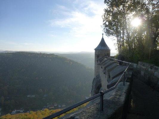 Blic von der Festung Königstein