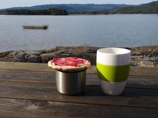 Frühstück am Nissersee