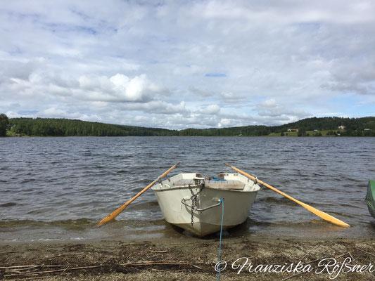 Ruderausflug auf dem Revsundsjön