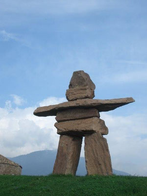 Im Messner-Mountain-Museum Siegmundskron