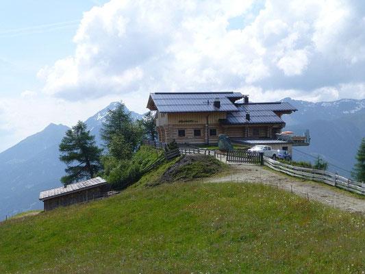 Die Nilljochhütte überm Virgental