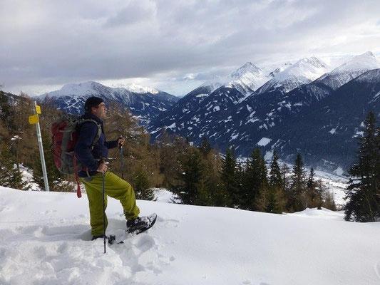 Schneeschuhwanderung zur Gottschaunalm