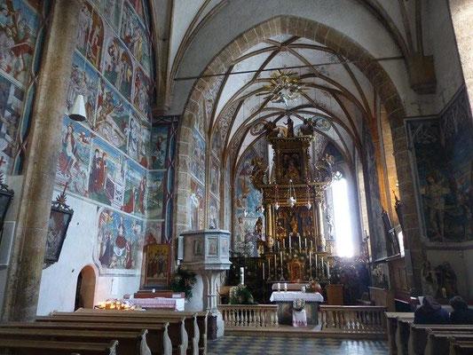 Fresken in der Wallfahrtskirche Maria Schnee