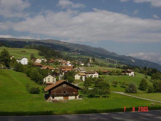 Typisches Landschaftsbild