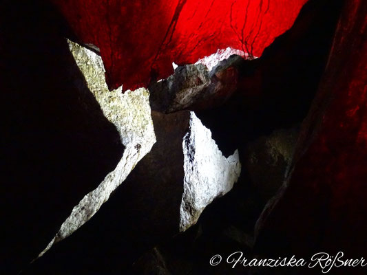 In der Källbergsgrottan