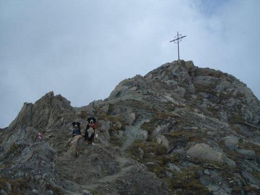 Kraxelei kurz unterm Gipfel