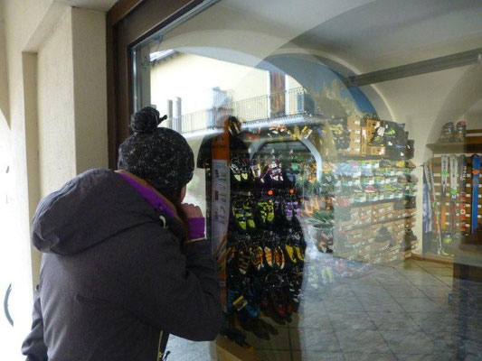Shoppingtour in Arco