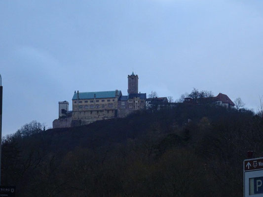 Blick zur Wartburg