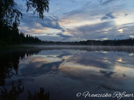 Abendstimmung am Sävsjön