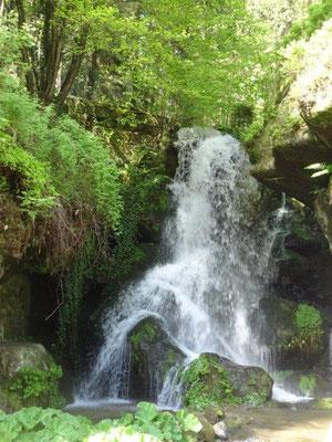 Der Lichtanhainer Wasserfall