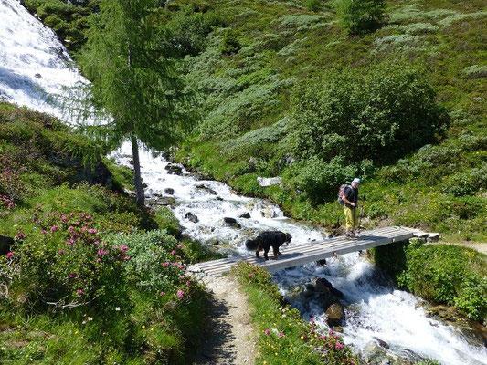 Aufstieg zur Bergerseehütte